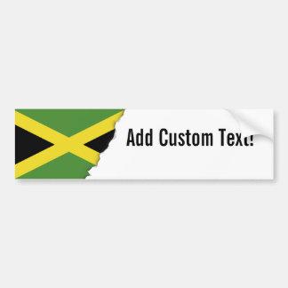 Pegatina Para Coche Bandera jamaicana clásica