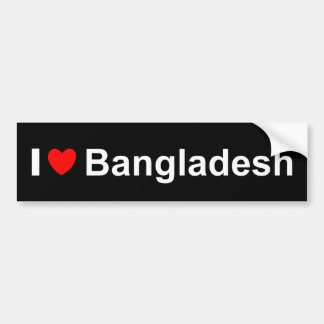 Pegatina Para Coche Bangladesh