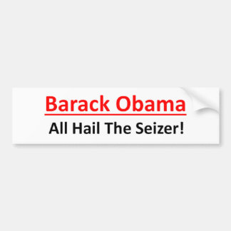 Pegatina Para Coche Barack Obama es un deseo de ser emperador