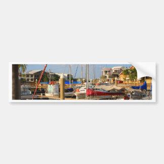 Pegatina Para Coche Barcos en el puerto deportivo, Darwin, Australia