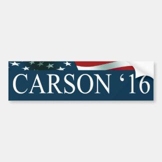 Pegatina Para Coche Ben Carson 2016