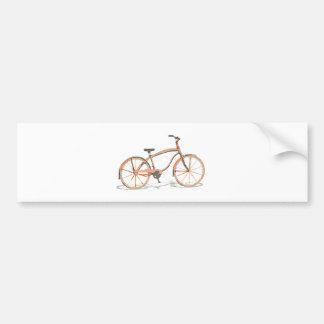 Pegatina Para Coche Bicicleta linda