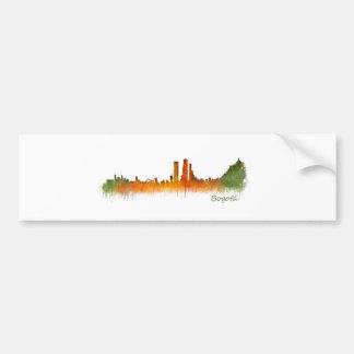 Pegatina Para Coche Bogotá City Colombia Cundinamarca Skyline v02