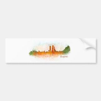 Pegatina Para Coche Bogotá City Colombia Cundinamarca Skyline v03