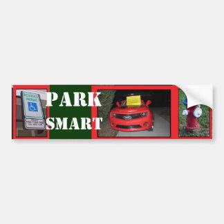Pegatina Para Coche Boleto de Smart del parque