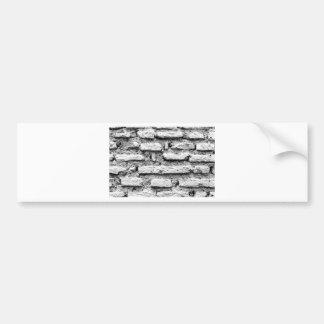Pegatina Para Coche Brickwall rústico