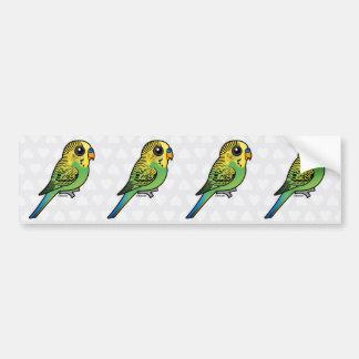 Pegatina Para Coche Budgerigar de Birdorable