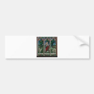 Pegatina Para Coche Buen mosaico del salvador del pastor de Jesús