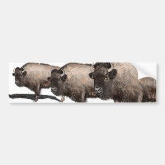 Pegatina Para Coche Búfalo, Bubalus