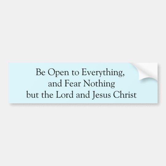 Pegatina Para Coche Bummer de Jesús