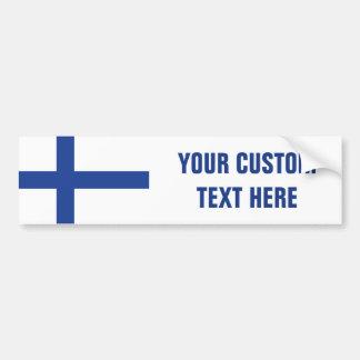Pegatina Para Coche Bumpersticker finlandés del personalizado de la