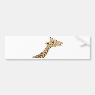 Pegatina Para Coche Cabeza de la jirafa