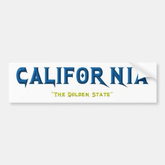 PEGATINA PARA COCHE CALIFORNIA