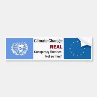 Pegatina Para Coche Cambio de clima > teorías de conspiración