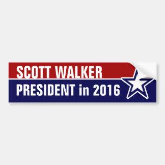 Pegatina Para Coche Caminante de Scott en 2016