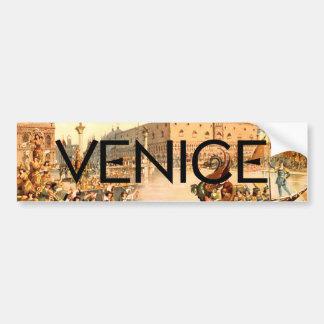 Pegatina Para Coche CAMISETA encendido a Venecia