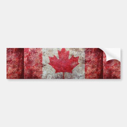 PEGATINA PARA COCHE CANADA FLAG