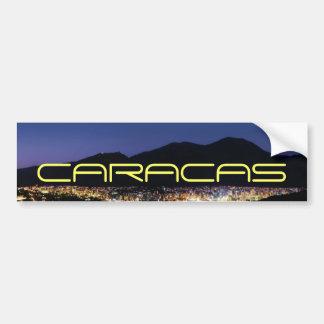 Pegatina Para Coche Caracas por noche