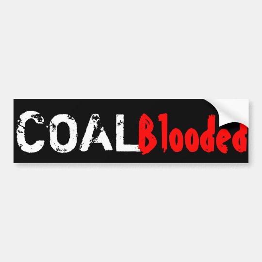 Pegatina Para Coche Carbón-Blooded