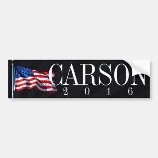 Pegatina Para Coche Carson 2016 políticos conservadores