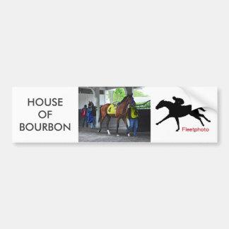 Pegatina Para Coche Casa de Borbón por Hardspun