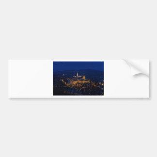 Pegatina Para Coche Castillo Hungría Budapest de Buda en la noche