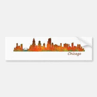 Pegatina Para Coche chicago US Skyline cityscape