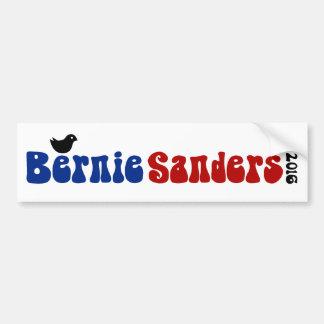 Pegatina Para Coche Chorreadoras Bernie retro POTUS del chirrido