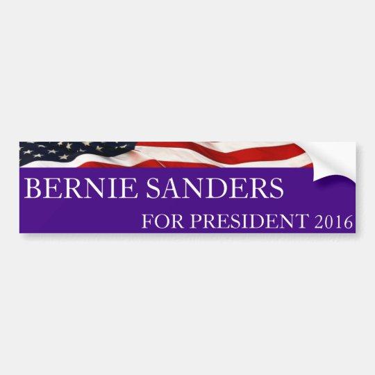 Pegatina Para Coche Chorreadoras de Bernie para el presidente 2016