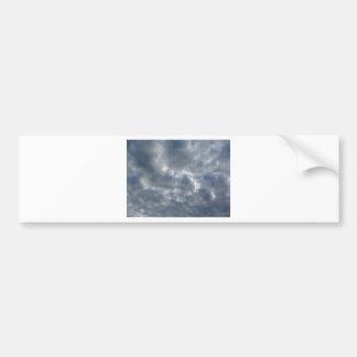Pegatina Para Coche Cielo caliente con las nubes de cumulonimbus de