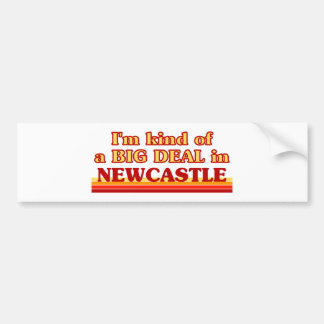 Pegatina Para Coche Clase de I´m de una gran cosa en Newcastle