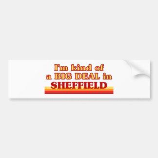 Pegatina Para Coche Clase de I´m de una gran cosa en Sheffield
