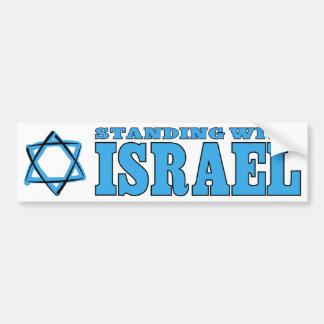 Pegatina Para Coche Colocación con Israel