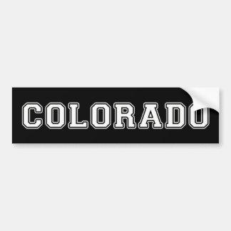 Pegatina Para Coche Colorado