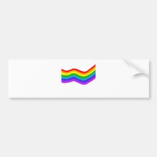 Pegatina Para Coche Colores del arco iris del Watercolour