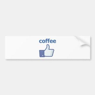 Pegatina Para Coche COMO el café