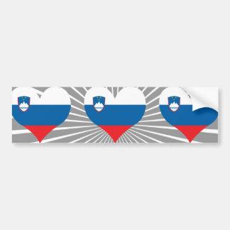 Pegatina Para Coche Compre la bandera de Eslovenia