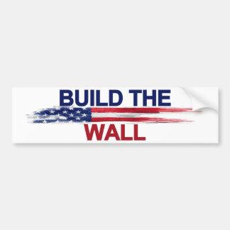 Pegatina Para Coche Construya la pared