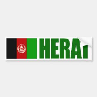 Pegatina Para Coche Corazón, bandera de Afganistán