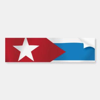 Pegatina Para Coche Cuba
