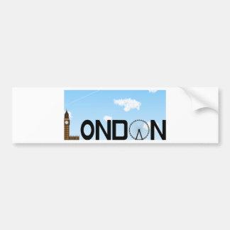 Pegatina Para Coche D3ia del horizonte de Londres