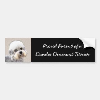 Pegatina Para Coche Dandie Dinmont Terrier