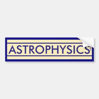 Pegatina Para Coche Departamento de la astrofísica