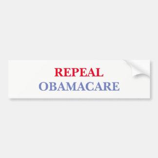 Pegatina Para Coche Derogación Obamacare