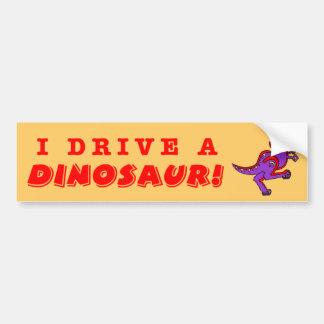 Pegatina Para Coche Dinosaurio
