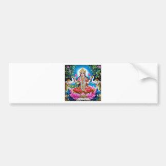 Pegatina Para Coche Diosa de Lakshmi del amor, de la prosperidad, y de