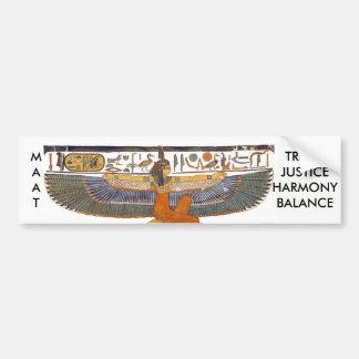 Pegatina Para Coche Diosa MA'AT de Egipto antiguo