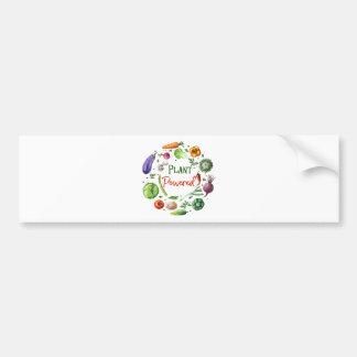 Pegatina Para Coche Diseños Planta-Accionados