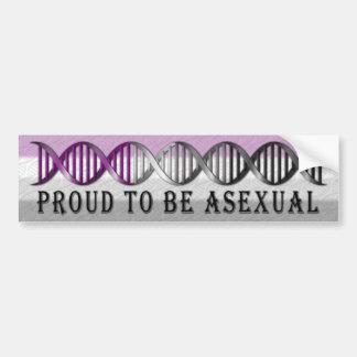 Pegatina Para Coche DNA asexual del orgullo