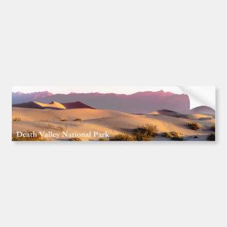 Pegatina Para Coche Dunas de arena planas del Mesquite Death Valley